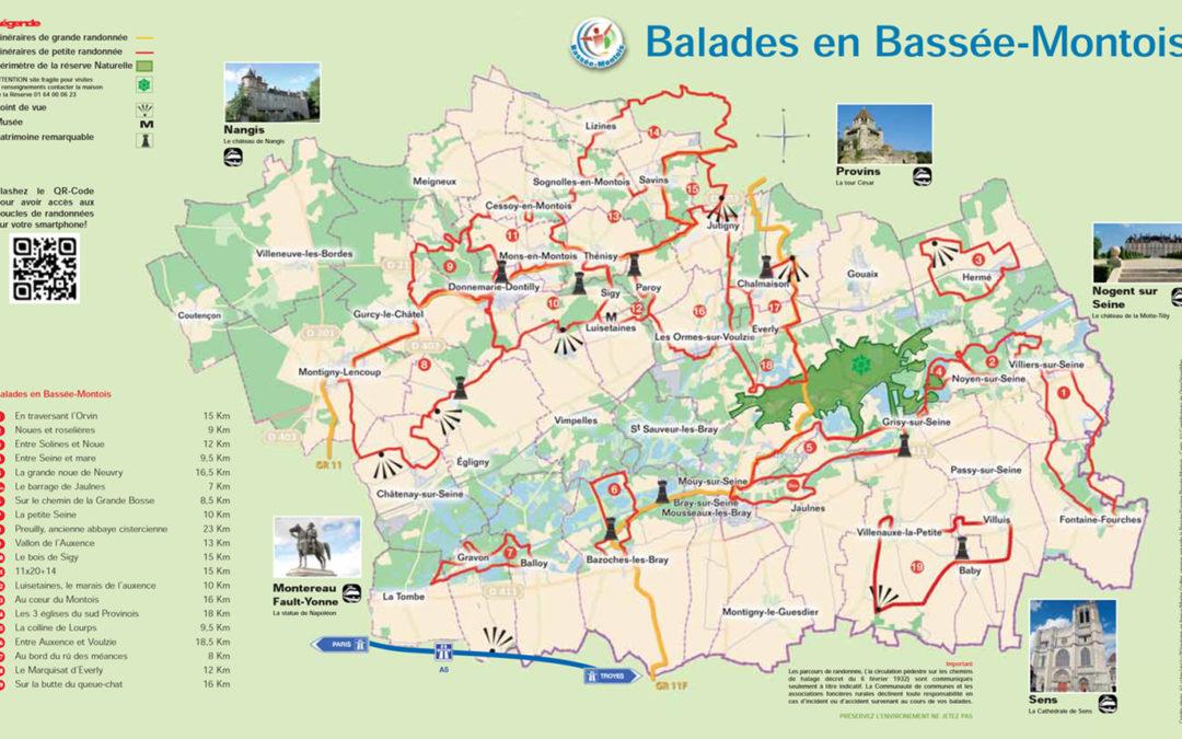 Randonnées en Bassée-Montois