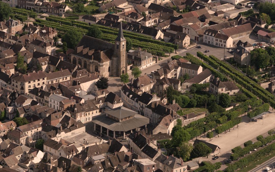 Visite de Bray-sur-Seine